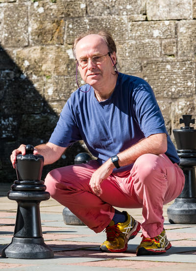 Ian Gent at Falkland Palace, August 2017